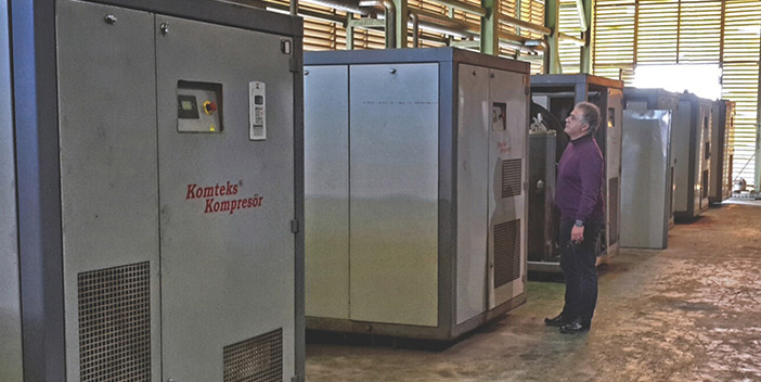 Compressors at Komteks