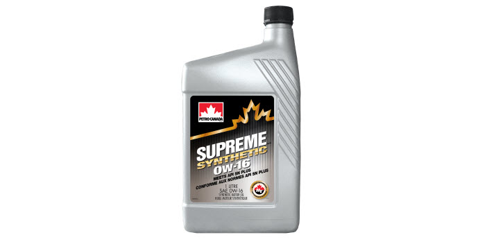 SUPREME Synthetic 0W-16